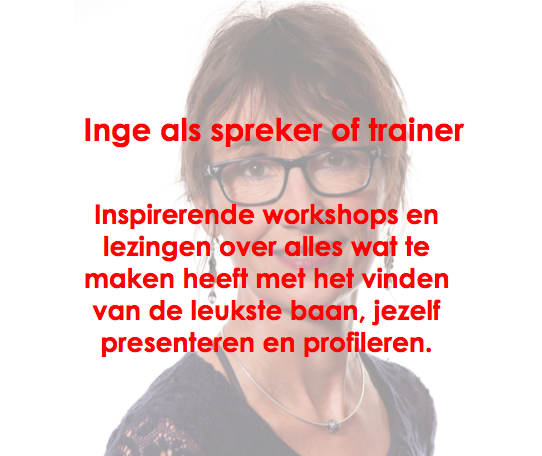 Inge als spreker of trainer